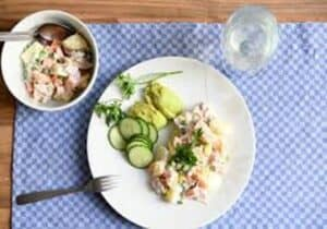 Potato Salad With Avocado Recipe